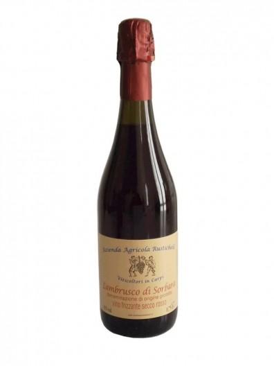 Vino frizzante secco Lambrusco Sorbara DOP